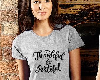 Thanksgiving T Shirt For Women Thanksgiving Shirts Thankful Shirt Thankful T shirt Thankful Top Thanksgiving Top Tee Shirt Tshirt For men