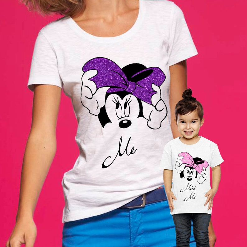 3bf4e603 Me Mini Me Mother Daughter Disney Shirts Matching Mom and | Etsy