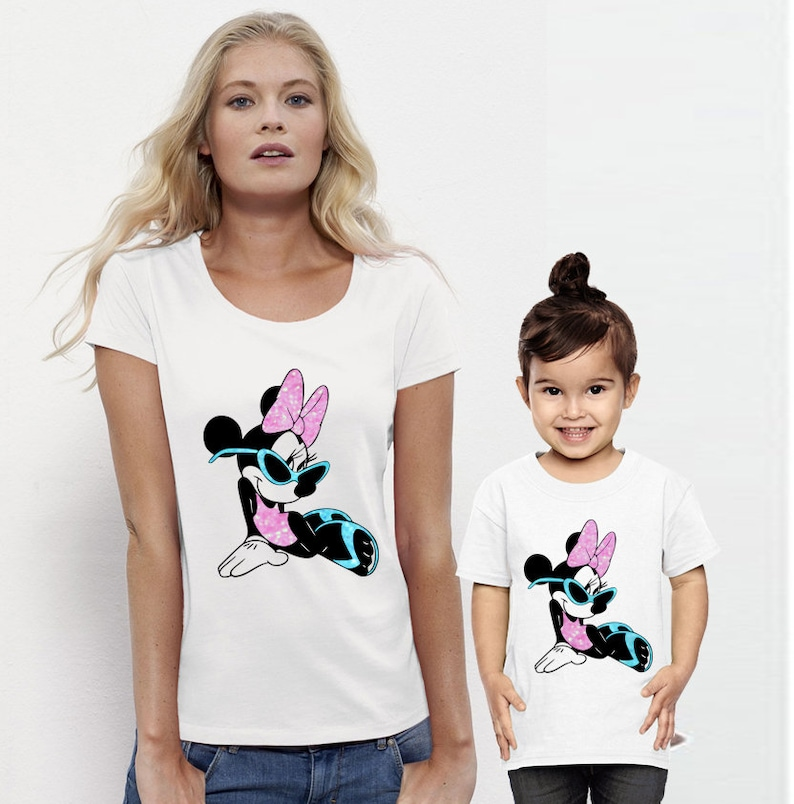 430c47d5 Mother Daughter Minnie Mouse Shirts Matching Mommy and Me | Etsy