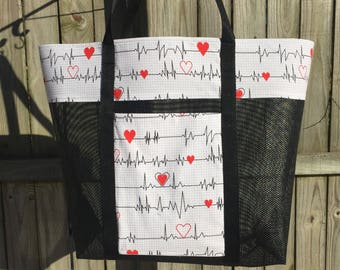 My Beating Heart Tote