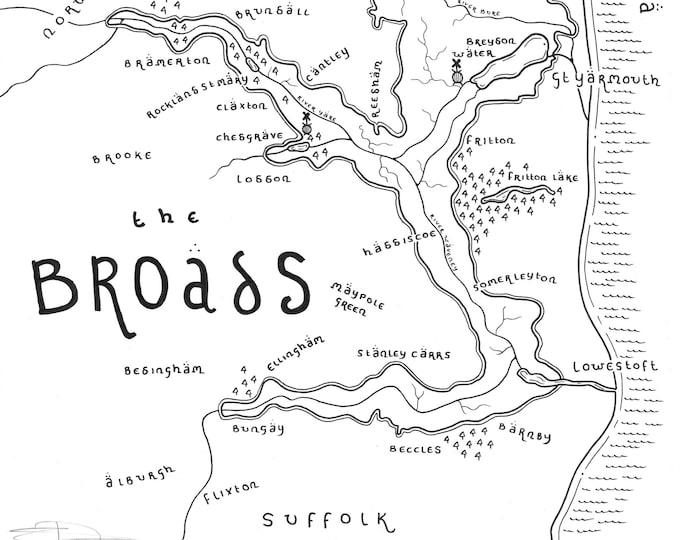 The Broads National Park - Giclée Print