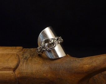 Silver Spoon Ring 925
