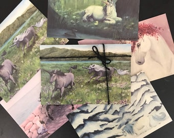 Unicorn Postcard Collection