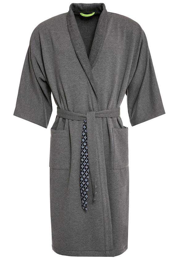 b4615a9521 Cotton fleece robe