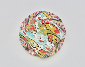 Origami Flower Bowl Tutorial   Tuto origami, Papier origami, Origami   270x340