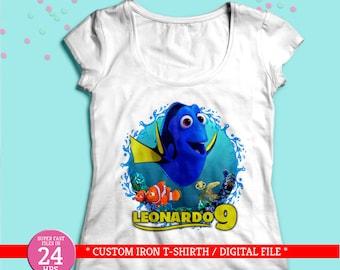 Camiseta personalizada dory  7c05c3a86f041