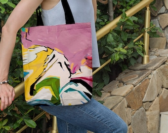 113f2c739f Abstract tote bag