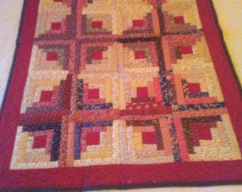 Quilted Wall Hanging/Couch Throw