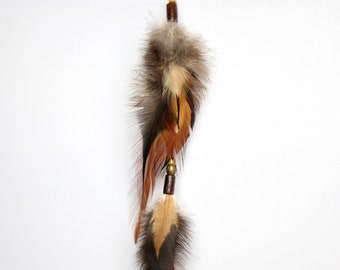 Extension feathers for hair 'Magnifica'