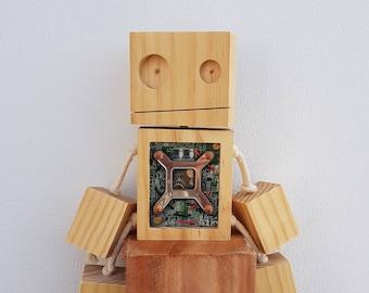 Wood Robot #2