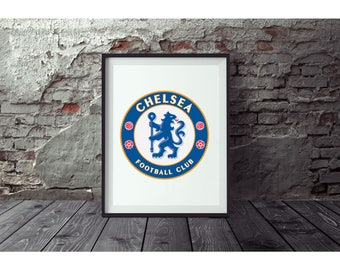 Chelsea Poster  No FRAME included (Next day FREE Shipping within the USA)