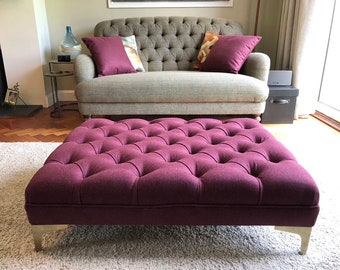 Large Footstool / Made to Order