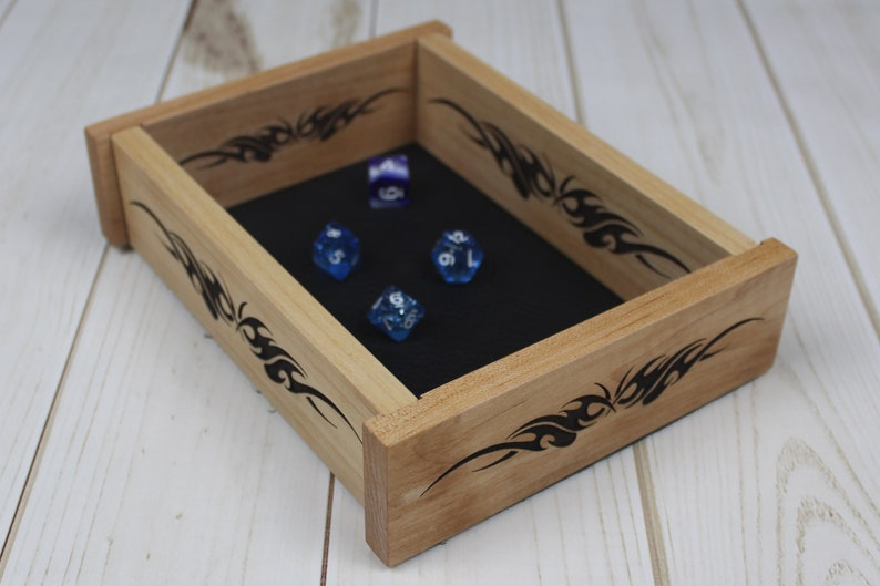 Magnetic Dice Tray  Folding Dice Tray  Collapsible Dice Tray image 0