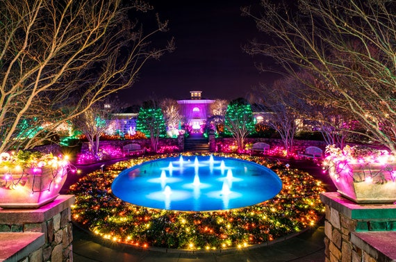 Lewis Ginter Botanical Gardens Christmas Alternate Etsy