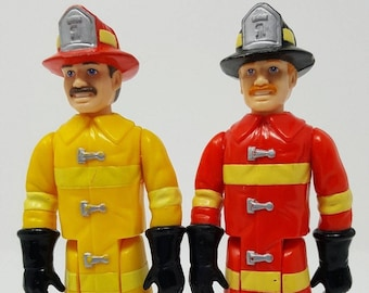 Loving Family Doll House Fireman Playskool Lot