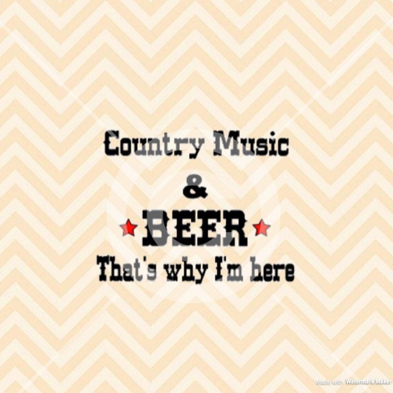 Country Music and Beer SVG, Country Concert SVG, Country music svg, convert  svg, country svg