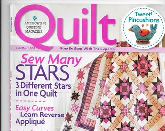 Quilt Magazine - February/March 2012