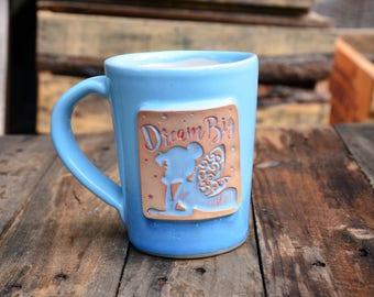 Tinkerbell Handmade Stoneware Pottery Mug