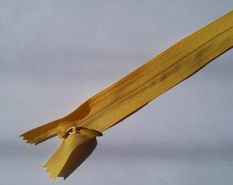 29 cm yellow invisible zipper No. 39
