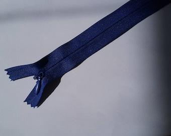 29 cm Royal Blue invisible zipper No. 33