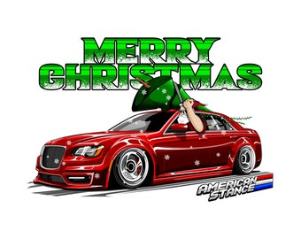 Merry Chrysler Tee Etsy