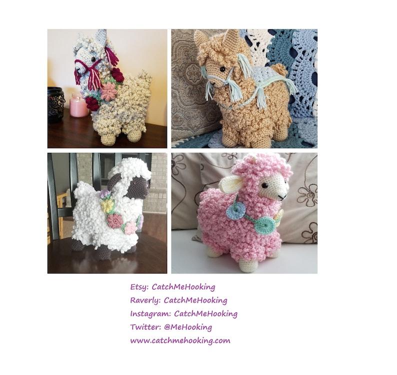 Digital Download PDF  Best in Show Alpaca/Sheep/Lamb Stuffed image 0