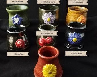 Floral Succulent Pots