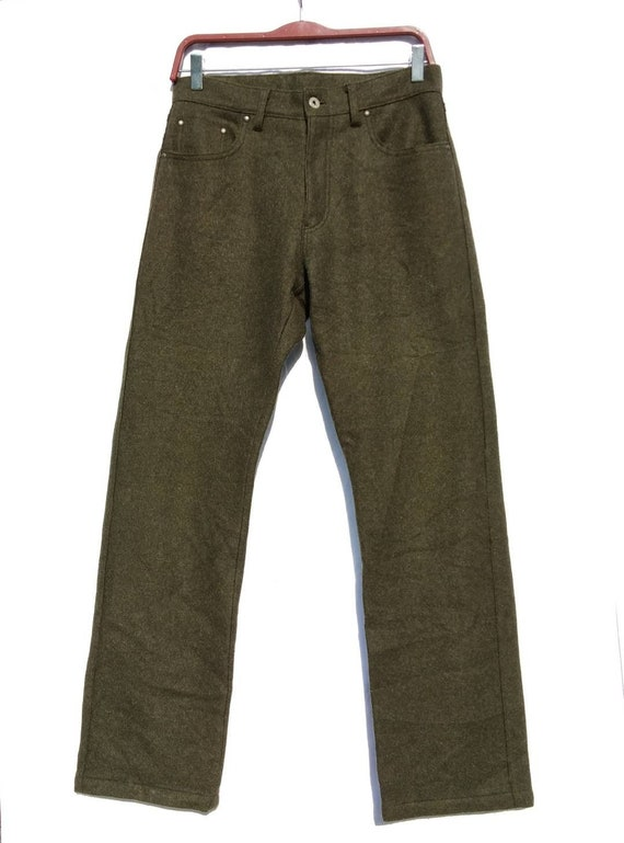 Wool PPFM Regular Fitting Pant Trouser