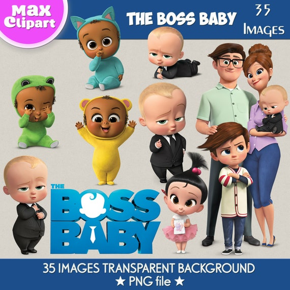 The Boss Baby Clipart Boss Baby Png The Boss Baby Images Digital Clipart Boss Baby Characters Boss Baby Decor Transparent Backgrounds