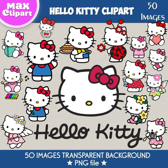 50 hello kitty clipart hello kitty png hello kitty images etsy