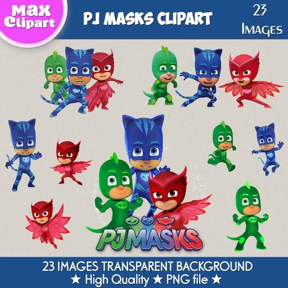 PJ MASKS Clipart PJ Masks Images Digital Clipart Png File