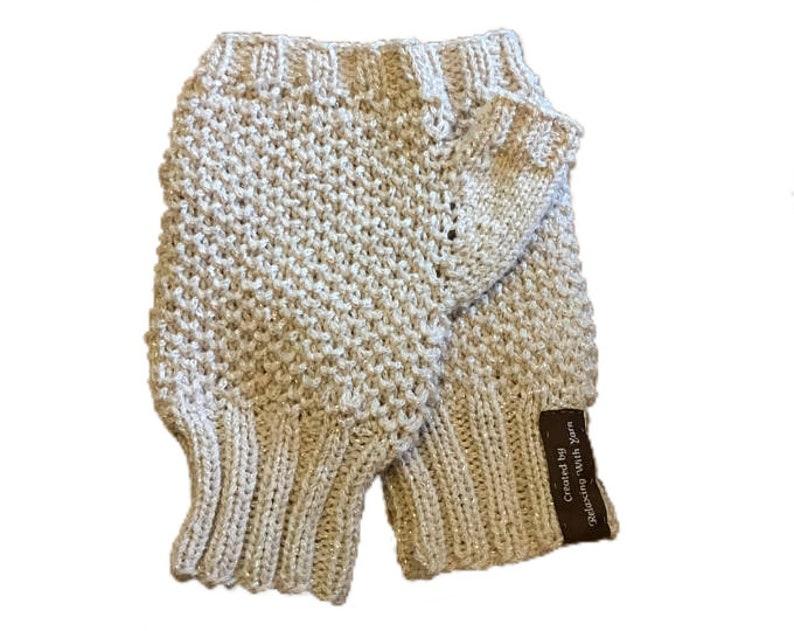 f852732625b8 Wrist Warmer PDF Knitting Pattern Fingerless Glove Knitting