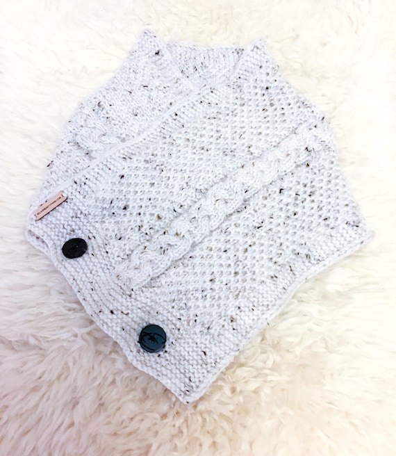 Neck Cowl Knitted Scarf Buttoned Scarf Ladies Scarf Mens   Etsy