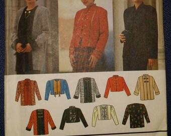 Simplicity 9219 Jacket / Vest Sewing Pattern Misses' Size 12-16 - Design Your Own - Uncut