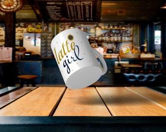 Latte' Girl Coffee Mug