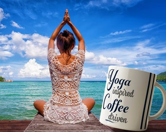 Yoga Inspired Coffee Mug