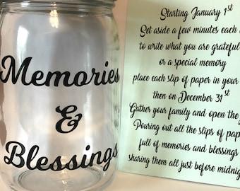Blessing Jar Etsy