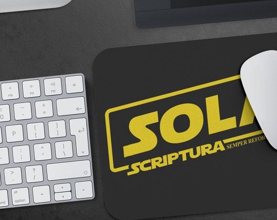 Sola Scriptura Semper Reformanda Mouse Pad