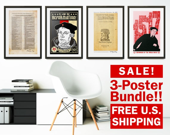 3-Pack Poster Bundle - Your Choice of 3 Posters (11x17) - FREE SHIPPING!