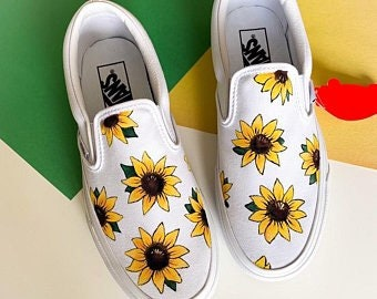 f319f4520776e Hand painted vans   Etsy