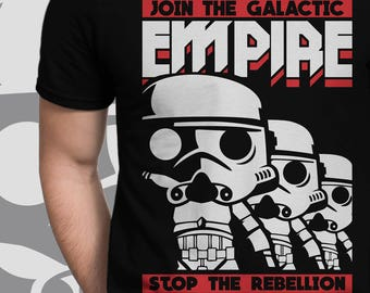 Join the Galactic Empire Star Wars SVG AI DXF Cutfile Silhouette Cameo