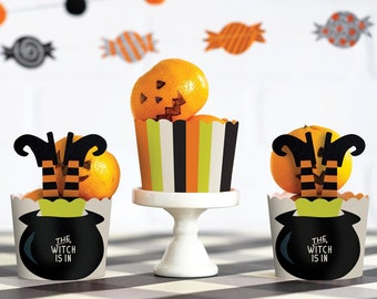 The Witch Is In, Halloween Food Cups, Cupcake Cups, Cupcake Liners, Baking Cups, Baking Supplies, Halloween Treat Cups, Halloween Party