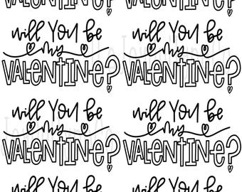 Valentines Day Coloring Pages Coloring Page Printable Etsy