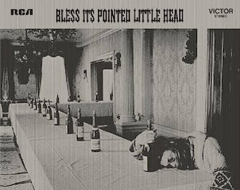 Jefferson Airplane-Bless Its Pointed Little Head Vintage Vinyl Record 1969