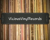 Random Lot of (25) Vinyl Records for crafting Vinyl Records only, no sleeves 33RPM LP 12 quot records