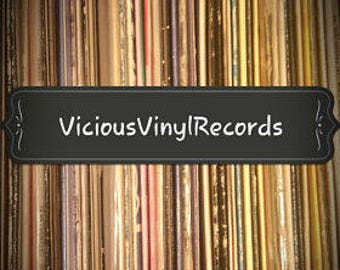"""Vintage vinyl mystery album covers, Lot of 25 (12.5""""x12.5"""") for crafting. DIY Craft Vinyl Covers."""