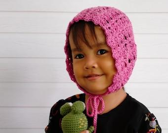 CROCHET PATTERN - The Arianne Bonnet