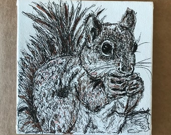 OOAK Animal Art Pieces