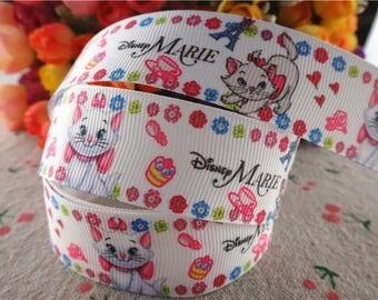 76 Ribbon - grosgrain - 25 mm sold by 50 CM - Mary Mary ribbon