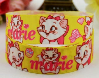 161 Ribbon - grosgrain - 22 mm sold by 50 CM - Mary Mary ribbon